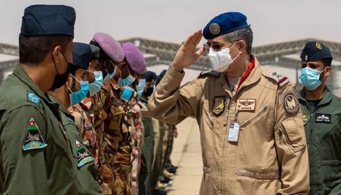 Oman's RAF participates in joint exercise with Saudi Arabia