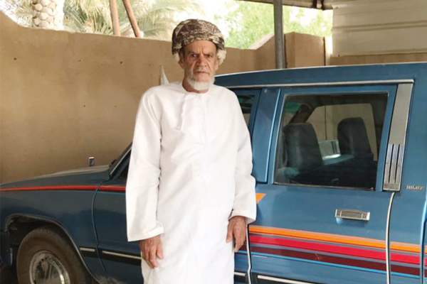 No traffic offence in a lifetime of driving for 89-year old Omani from Ibri