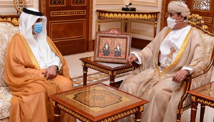 Oman Minister receives Ambassador of Saudi Arabia