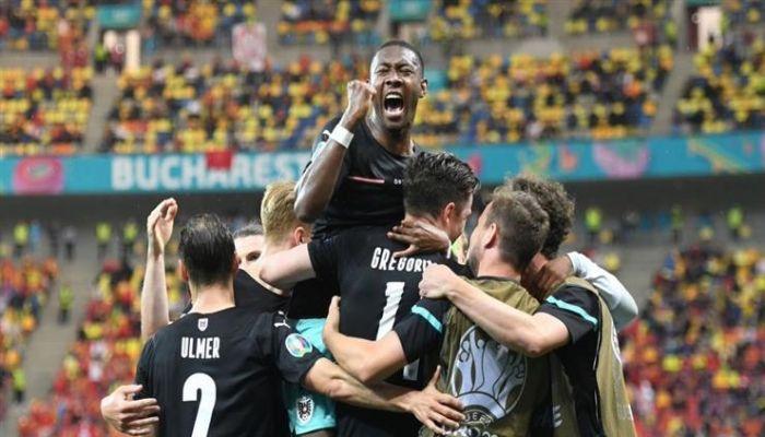 النمسا تحقق فوز تاريخي