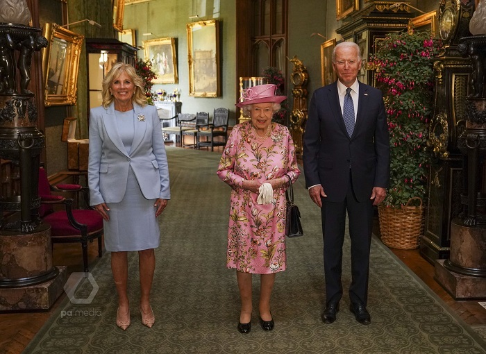 Was very gracious, reminded me of my mother: Biden after meeting Queen Elizabeth II at Windsor Castle