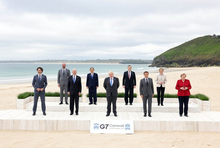 China lambasts G7 unified position on Beijing, says 'small' groups don't rule the world