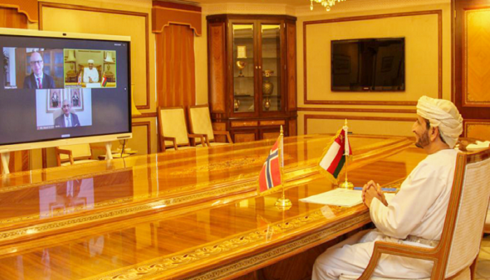Oman holds virtual meeting with Norway