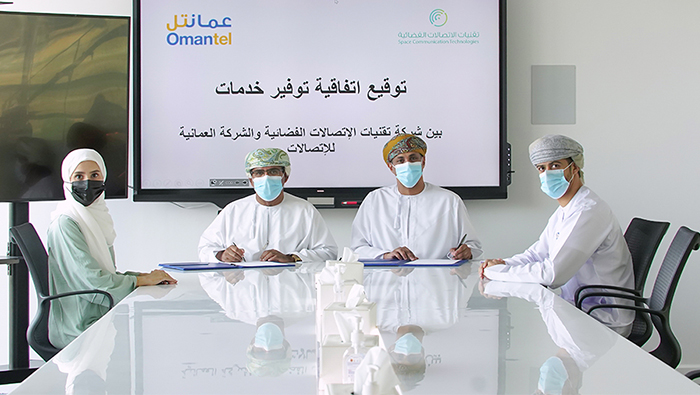 Strategic pact signed to provide satellite services in Oman