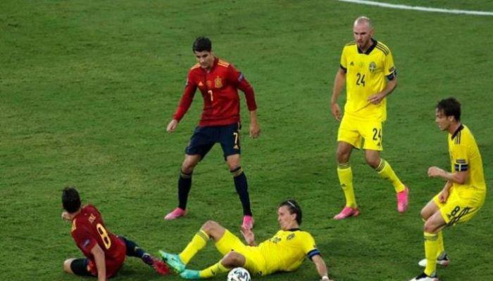 السويد تتعادل مع إسبانيا في إشبيلية بيورو 2020