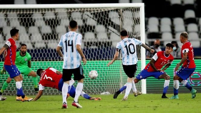 الأرجنتين تفشل في فك عقدة تشيلي