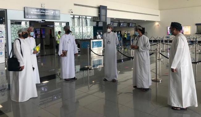 CAA inspects health safety protocols at airports in Oman
