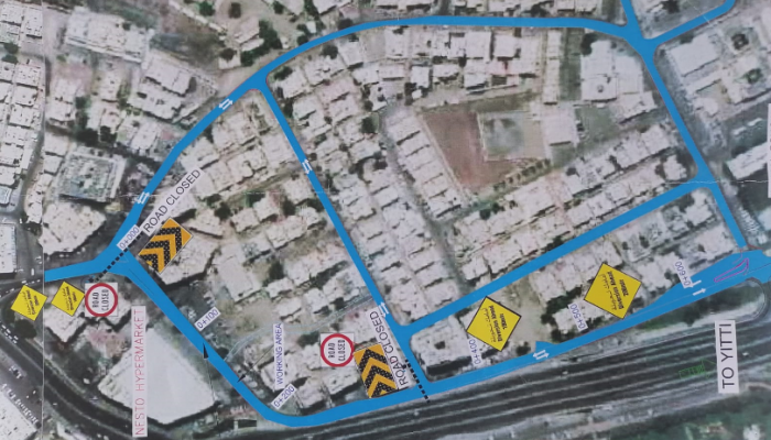 Wadi Kabir's slip road to be temporarily closed