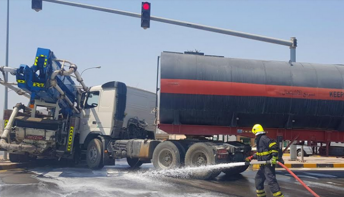 Tanker collision injures one in Oman