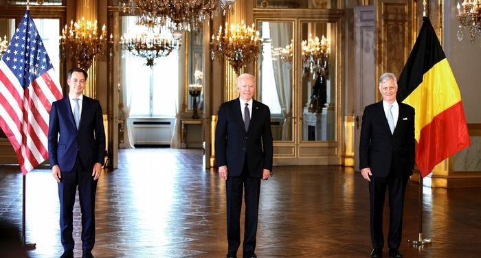Biden meets EU leaders as lingering trade tensions simmer