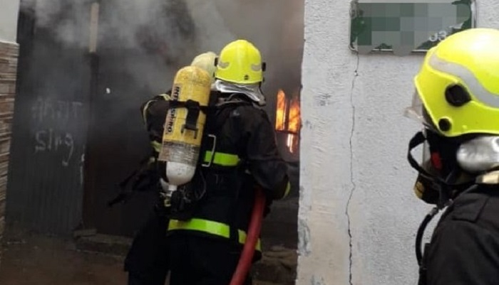 Fire at a house in Oman extinguished