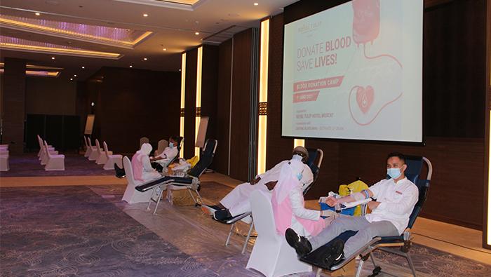 Royal Tulip Hotel Muscat organises blood donation camp