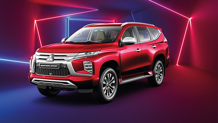 Arrive in style with Mitsubishi Montero Sport