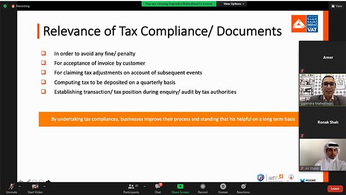 Zubair SEC concludes third 'Know Your VAT' webinar