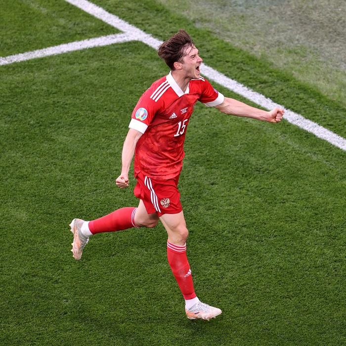 Aleksei Miranchuk's goal helps Russia defeat Finland