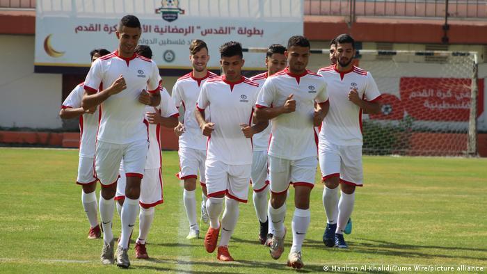 Reality dents Palestine's football dreams