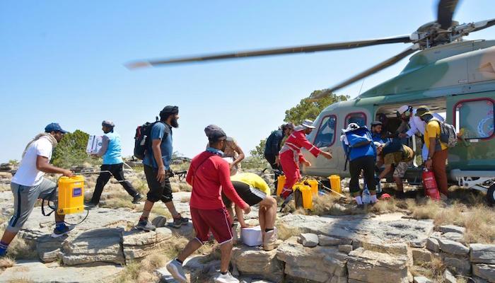 Experts to survey Ras Al Harq fire site