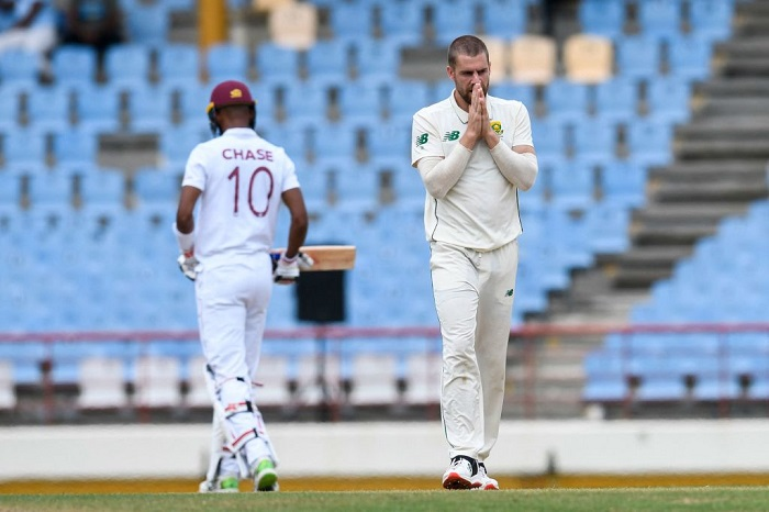 WI vs SA, 2nd Test: Bowlers tear through hosts to put Proteas in driver's seat