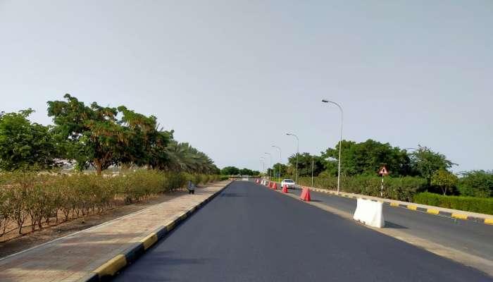 Maintenance work completed on roads in Wilayat of Quriyat