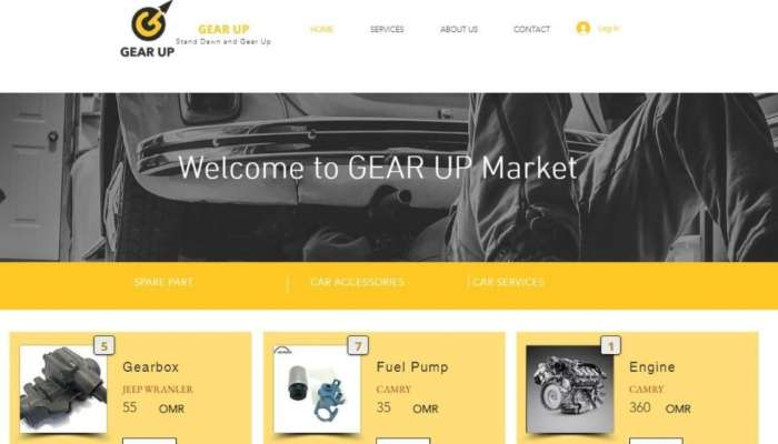 Omani student company designs electronic platform for purchase, sale of automobile parts
