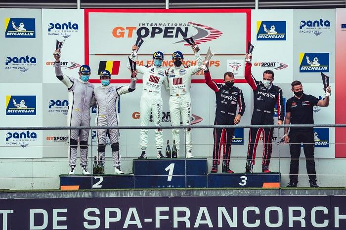 Al-Zubair and Soucek lead GT Open Series after race one victory in Spa
