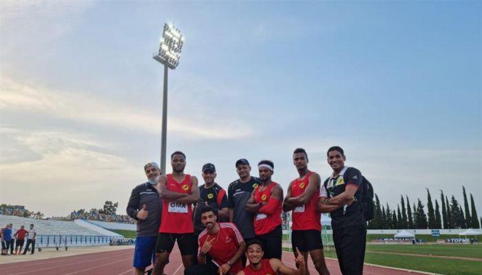 المنتخب الوطني للقوى يحقق فضية التتابع في منافسات البطولة العربية بتونس