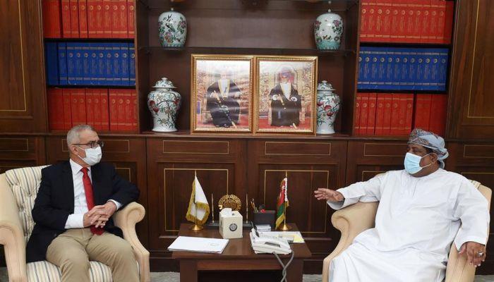 رئيس الغرفة يستقبل وزير الشؤون الخارجية والأوروبية في مالطا