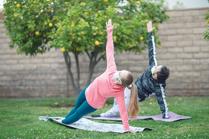 Celebration of 7th International Day of Yoga in Oman
