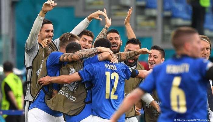 Italy 1-0 Wales: Pessina scores Azzurri winner but both teams into last 16