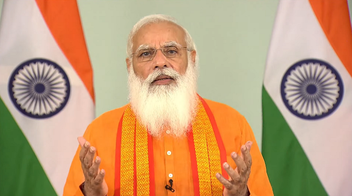 Yoga became source of inner strength for people amid COVID, says PM Modi