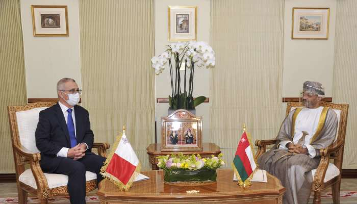 Oman and Malta review bilateral ties, cooperation