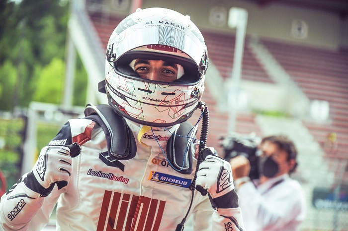 Podium finish and GT Open series lead for Al-Zubair and Soucek