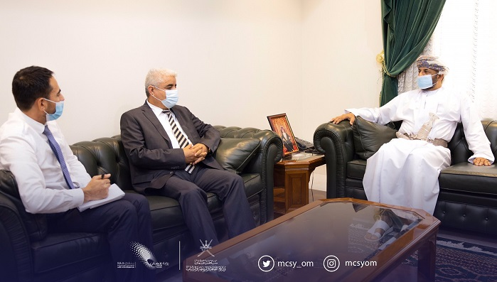 Undersecretary of Cultural Ministry receives Ambassador of Afghanistan