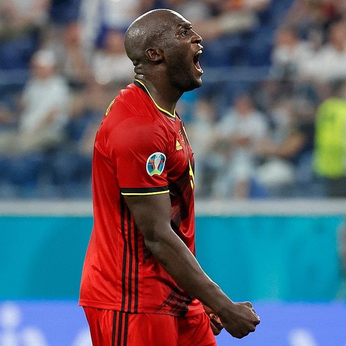 Belgium thrash Finland, Denmark move past Russia to advance in Euro 2020