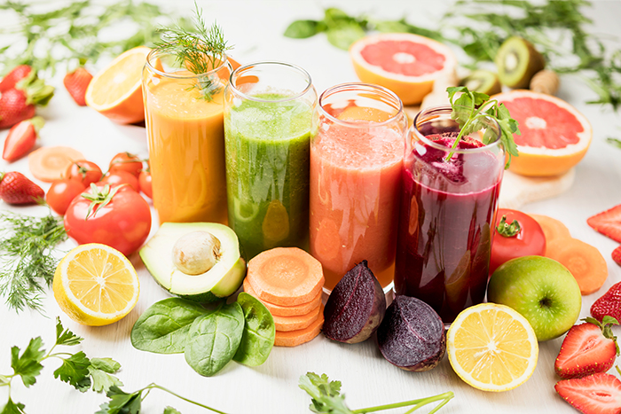 Vegetable juices for wellness