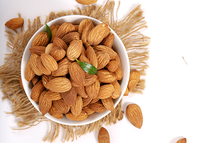 Snack on almonds this summer
