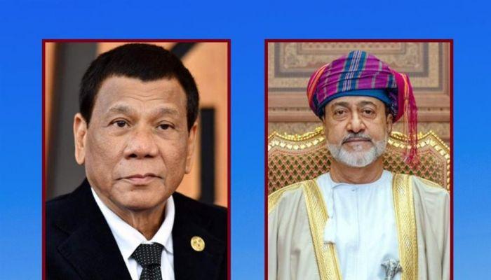 جلالة السلطان يبعث برقية تعزية للرئيس الفلبيني