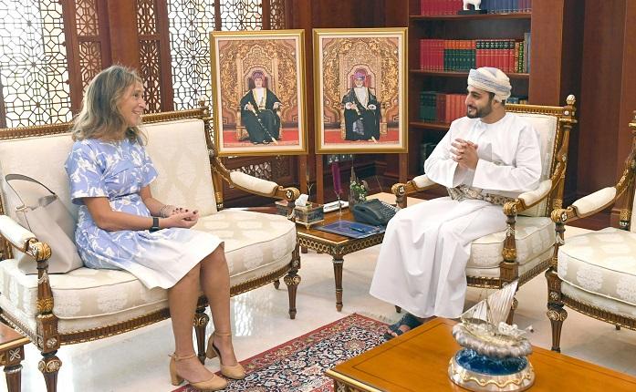 HH Sayyid Theyazin receives Italian Ambassador