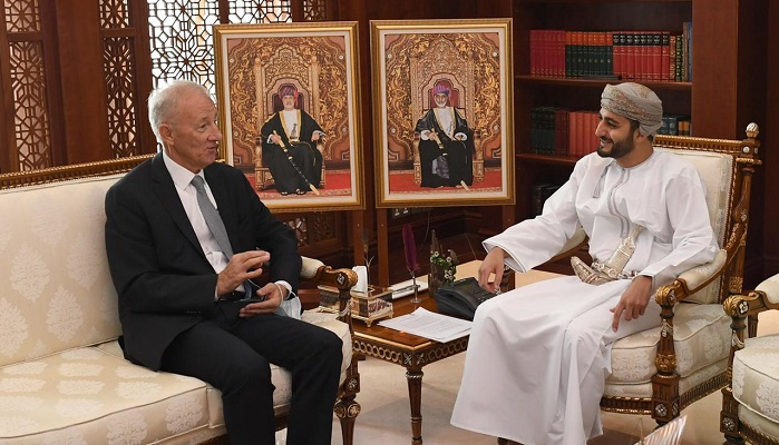 HH Sayyid Theyazin meets Hungarian Ambassador