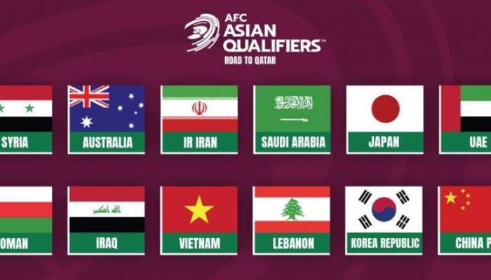 غدا.. سحب قرعة الدور النهائي من التصفيات الآسيوية المؤهلة لمونديال قطر 2022