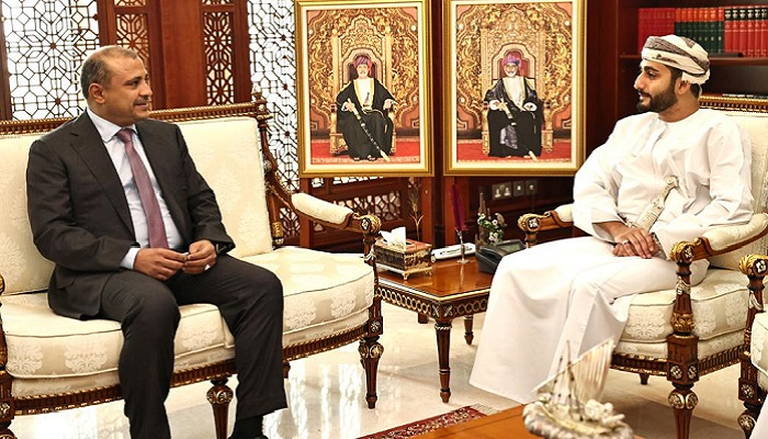 HH Sayyid Theyazin receives Yemen Minister