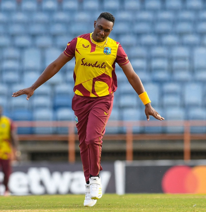 Bravo powers West Indies to big win against South Africa, series level 2-2