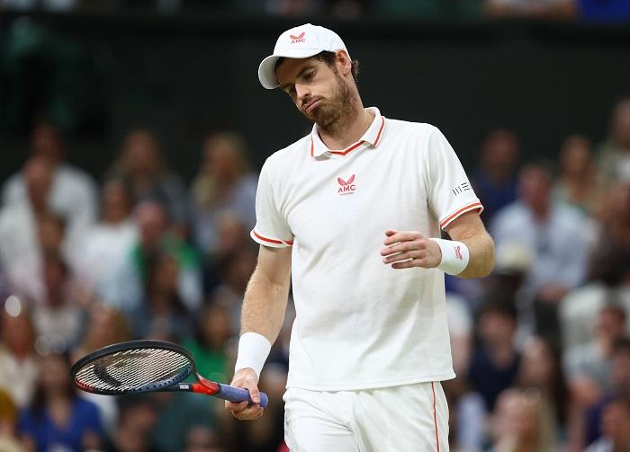 Former champions Murray, Muguruza out at Wimbledon