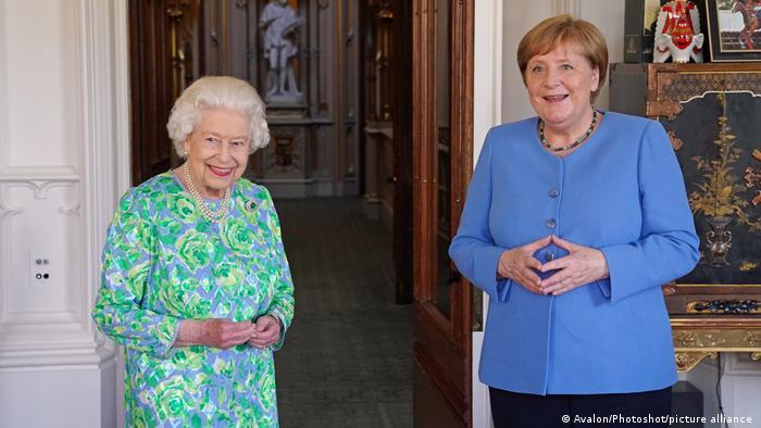 Germany's Angela Merkel makes last official visit to UK