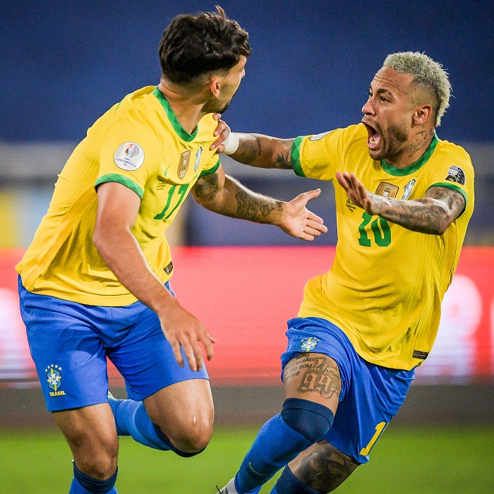 Copa America: Paqueta's goal helps 10-man Brazil defeat Chile to enter semifinals