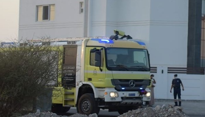 One injured in Muscat Governorate fire