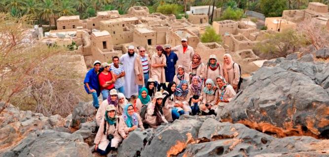 مشروع توثيق أهم الحارات العمانية: قصرى وحجرة مسلمات والخبت وسيجا