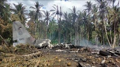 ارتفاع حصيلة الضحايا في حادث تحطم الطائرة العسكرية في الفلبين إلى 29 شخصا