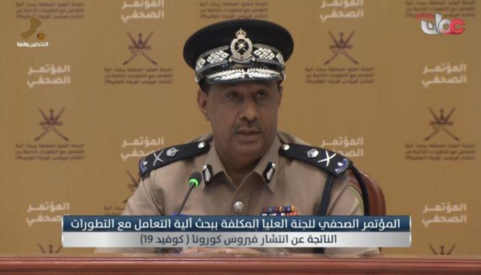 الشرطة:  سنراعي الحالات الإنسانية خلال فترة الإغلاق التام بعيد الأضحى