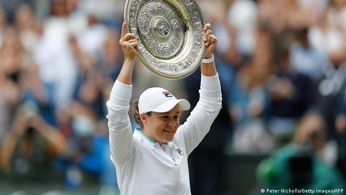 Australian Ashleigh Barty wins 2021 Wimbledon title